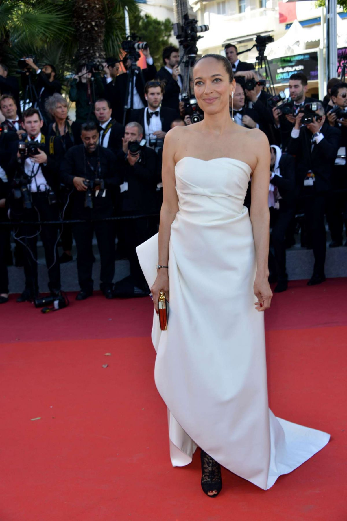 CARMEN CHAPLIN at Okja Premiere at 70th Annual Cannes Film Festival 05/19/2017