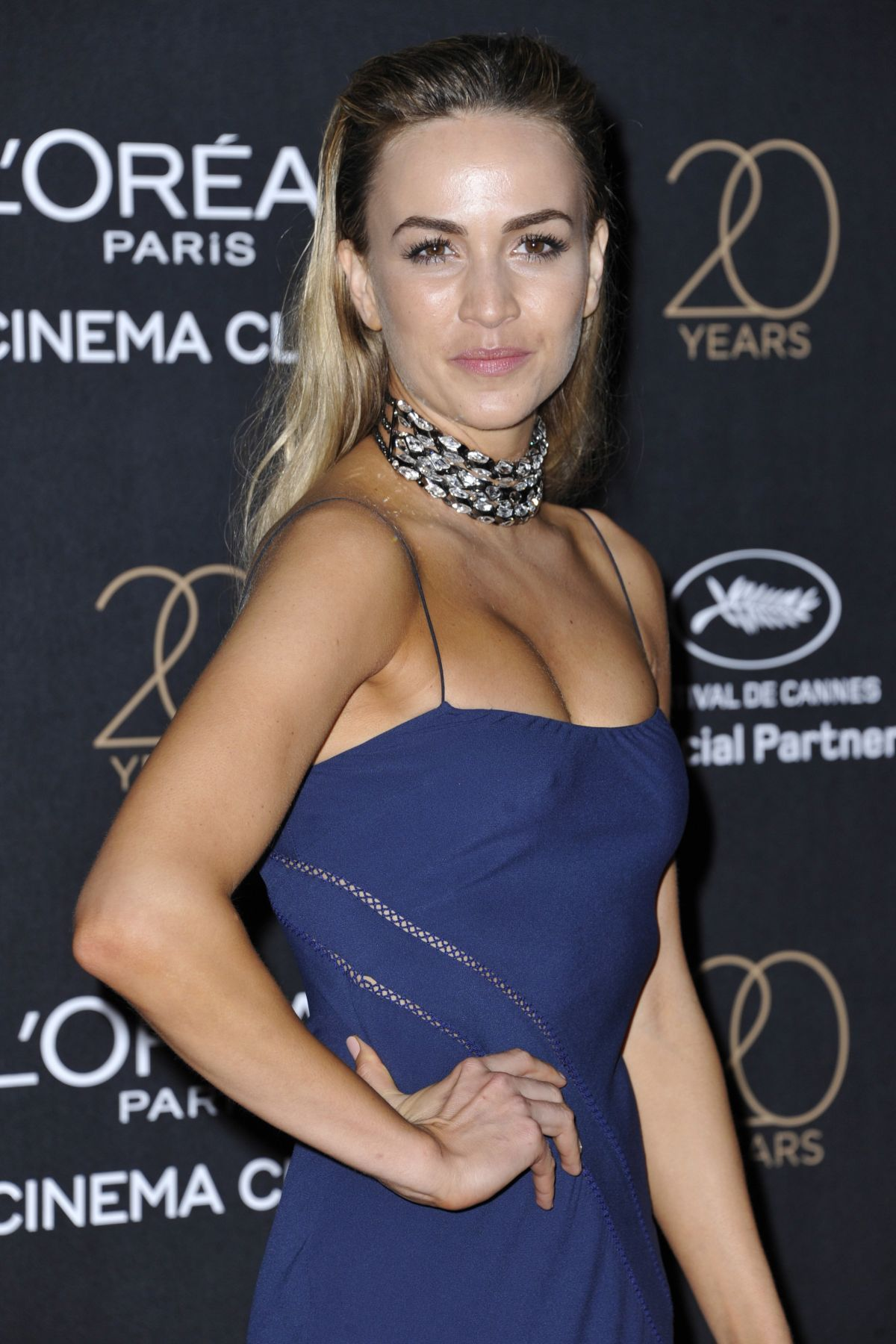 CARMEN JORDA at L'Oreal 20th Anniversary Party at Cannes Film Festival 05/24/2017