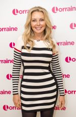CAROL VORDERMAN at Lorraine Show in London 05/10/2017