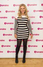 CAROL VORDERMAN at Lorraine Show in London 05/10/2017