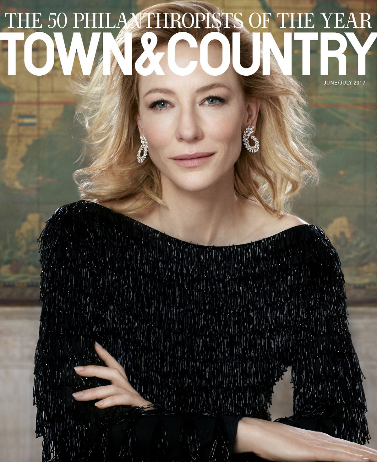 CATE BLANCHETT for Town & Country, June/July 2017