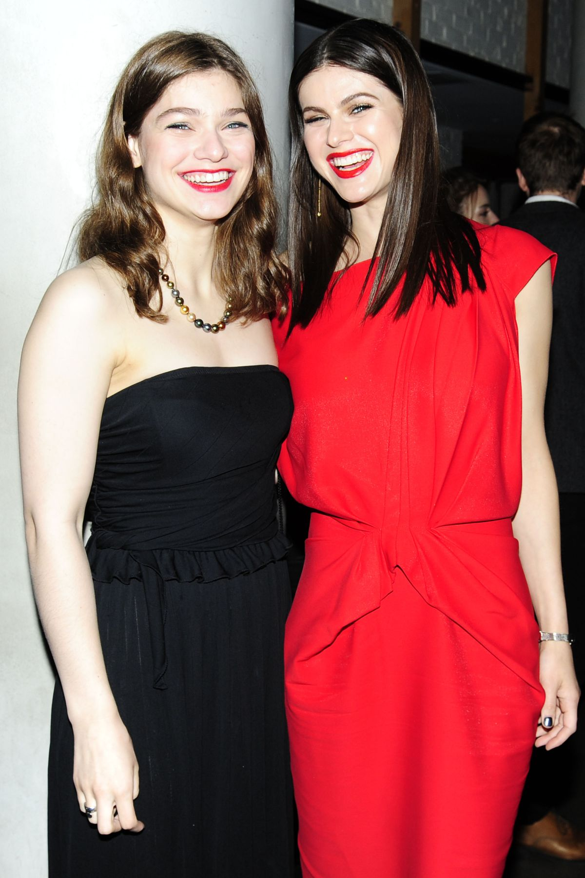 CATHARINE and ALEXANDRA DADDARIO at Baywatch Screening in New York 05/22/2017