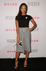 CHANDLER KINNEY at Nylon Young Hollywood May Issue Party in Los Angeles 05/02/2017