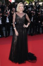 CHARLIZE THERON at Anniversary Soiree at 70th Annual Cannes Film Festival 05/23/2017