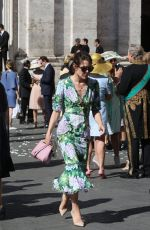 CHARLOTTE CASIRAGHI at a Wedding in Rome 05/28/2017