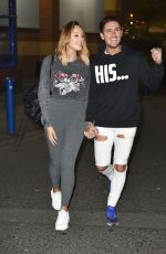 CHARLOTTE CROSBY Out and About in Sunderland 05/12/2017