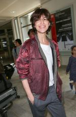 CHARLOTTE GAINSBOURG at Airport in Nice 05/16/2017
