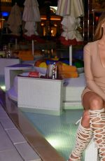 CHARLOTTE MCKINNEY at Nightswim Opening at Encore Beach Club at Wynn Las Vegas 05/05/2017