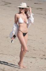 CHARLOTTE MCKINNEY in Bikini on the Beach in Los Angeles 05/29/2017