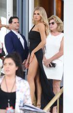 CHARLOTTE MCKINNEY Leaves Faena Hotel in Miami 05/13/2017