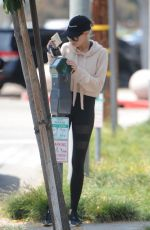CHARLOTTE MCKINNEY Out and About in West Hollywood 05/12/2017