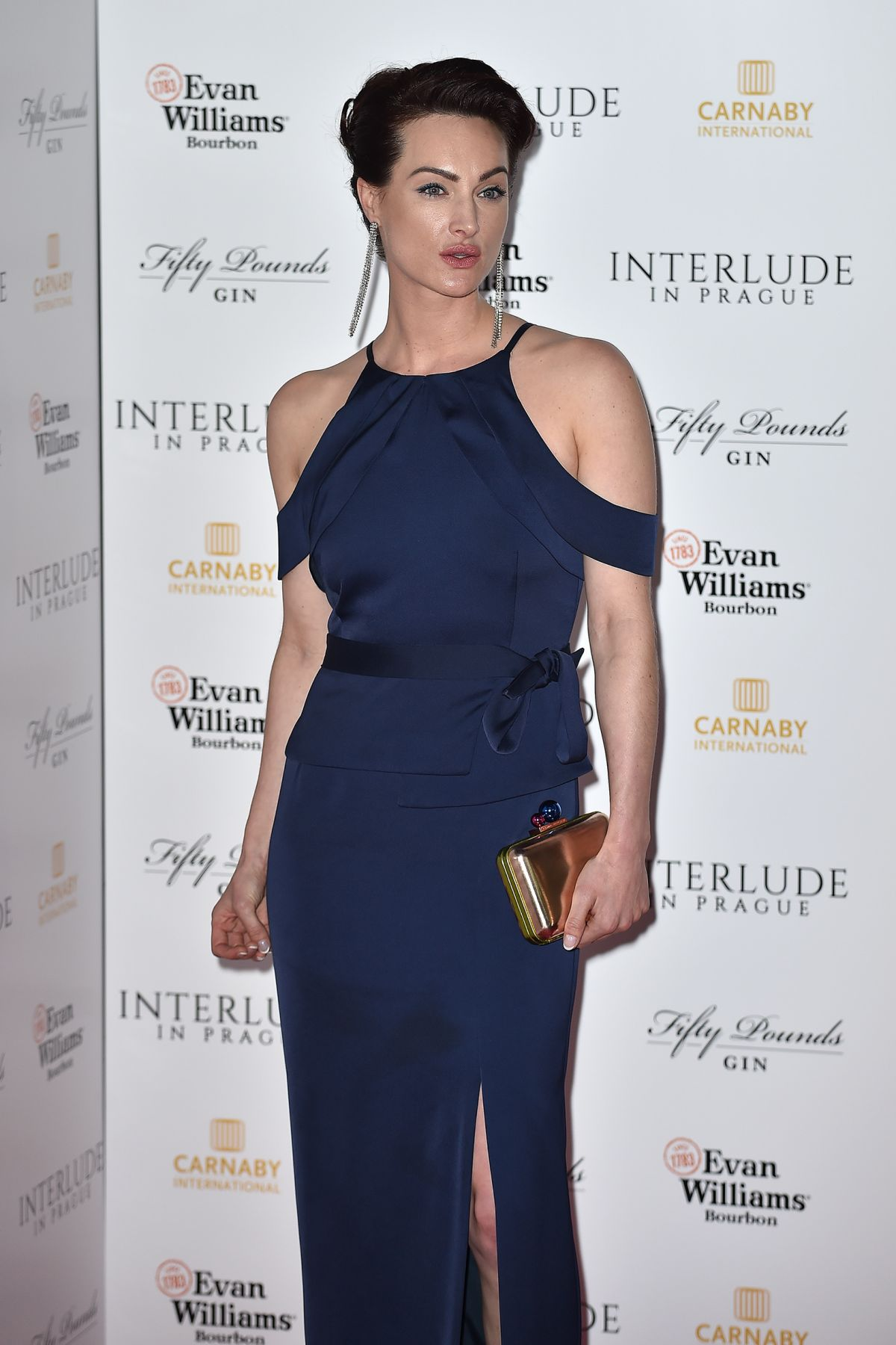 CHARLOTTE PETERS at Interlude in Prague Premiere in London 05/11/2017