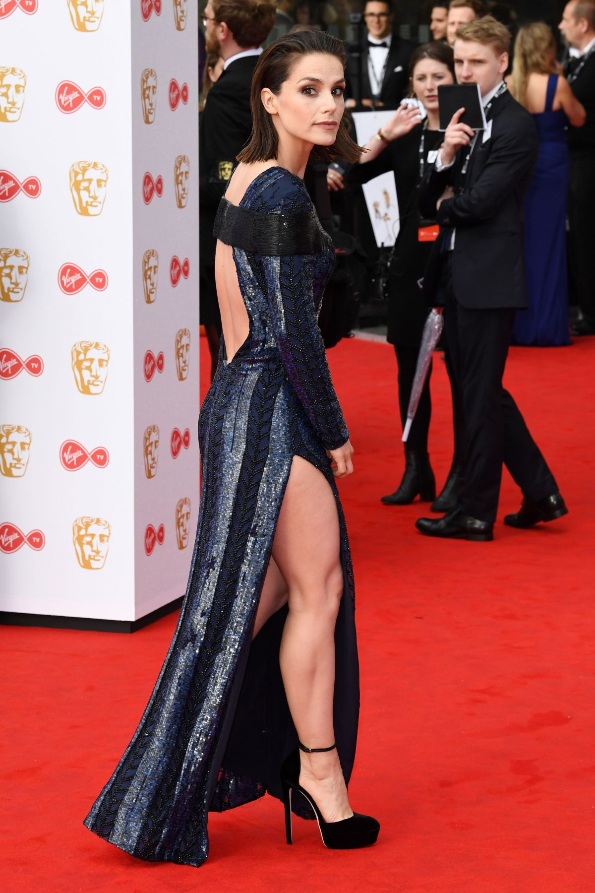 CHARLOTTE RILEY at 2017 British Academy Television Awards in London 05/14/2017 - HawtCelebs