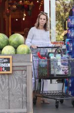 CHERY HINES Shopping at Bristol Farms in Beverly Hills 05/03/2017