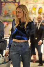 CHIARA and VALENTINA FERRAGNI Out Shopping in Milan 05/09/2017