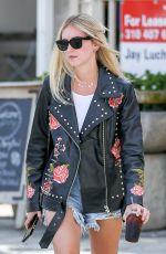 CHIARA FERRAGNI in Daisy Dukes Out in Beverly Hills 05/24/2017