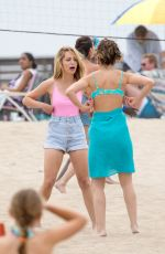 CHLOE BENNET, ASLEIGH MURRAY and JESSICA ROTHE on the Set of Valley Girl Remake in Los Angeles 05/30/2017