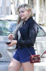 CHLOE MORETZ in Shorts Leaves Yoga Class in West Hollywood 05/23/2017
