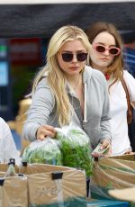 CHLOE MORETZ Shopping at Farmers Market in Studio City 05/21/2017