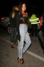 CHRISTINA MILIAN Arrives at Catch LA in West Hollywood 05/12/2017
