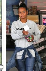 CHRISTINA MILIAN at a Gas Station in Beverly Hills 05/09/2017