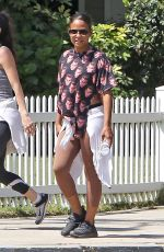 CHRISTINA MILIAN Out Hikinig in Los Angeles 05/11/2017