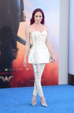 CIATY LOTZ at Wonder Woman Premiere in Los Angeles 05/25/2017