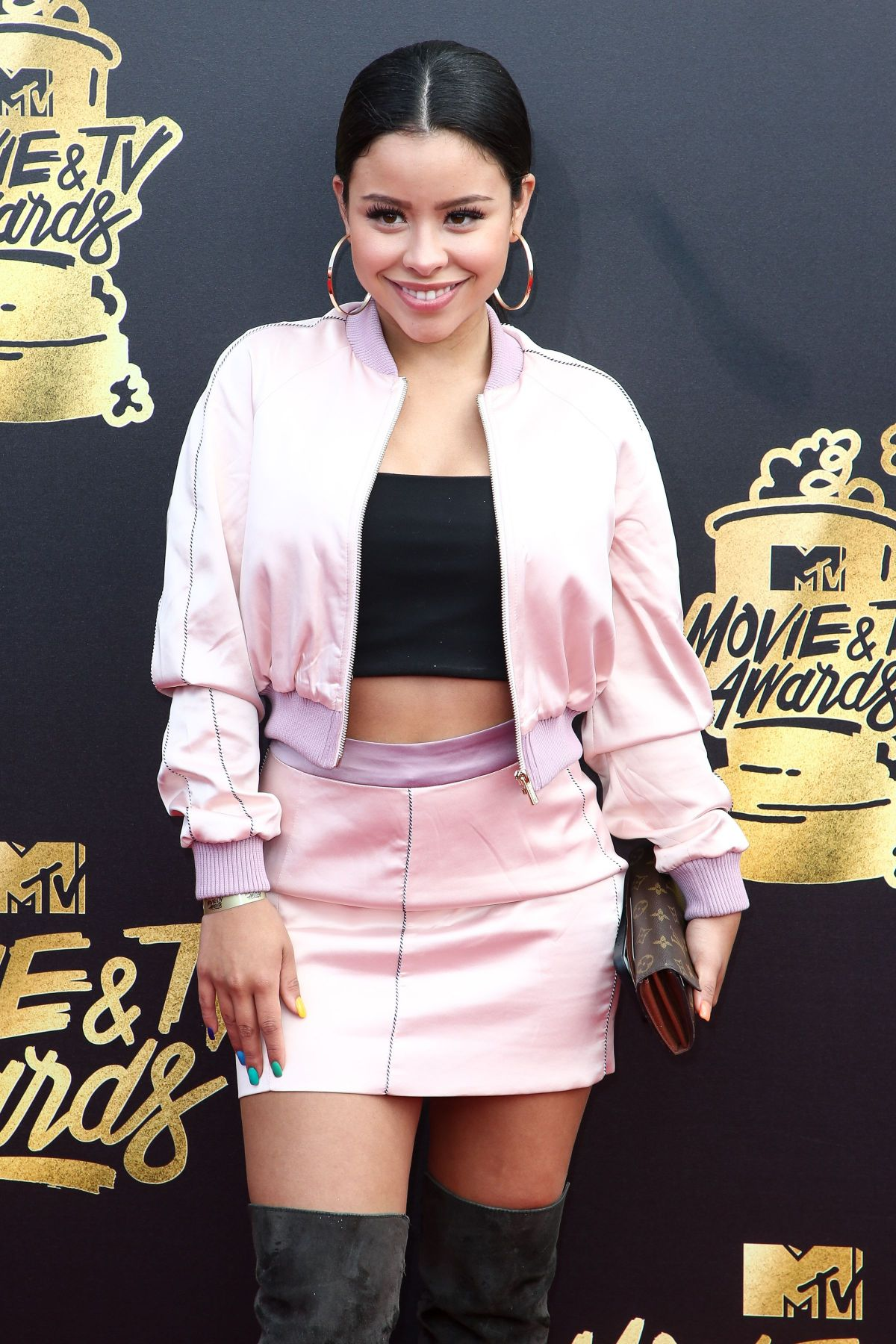 CIERRA RAMIREZ at 2017 MTV Movie & TV Awards in Los Angeles 05/07/2017