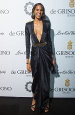 CINDY BRUNA at De Grisogono Party at Cannes Film Festival 05/23/2017
