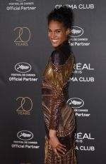 CINDY BRUNA at L'Oreal 20th Anniversary Party at Cannes Film Festival 05/24/2017