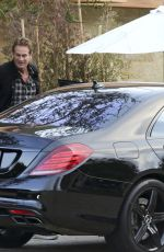 CINDY CRAWFORD Arrives at Soho Houses in Malibu 05/09/2017