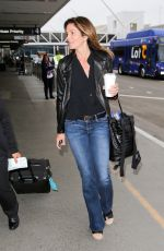 CINDY CRAWFORD at Los Angeles International Airport 05/30/2017