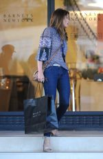 CINDY CRAWFORD Shopping at Barneys New York in Beverly Hills 05/25/2017
