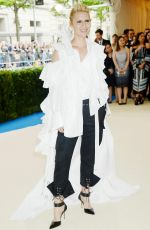 CLAIRE DANES at 2017 MET Gala in New York 05/01/2017