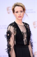 CLAIRE FOY at 2017 British Academy Television Awards in London 05/14/2017
