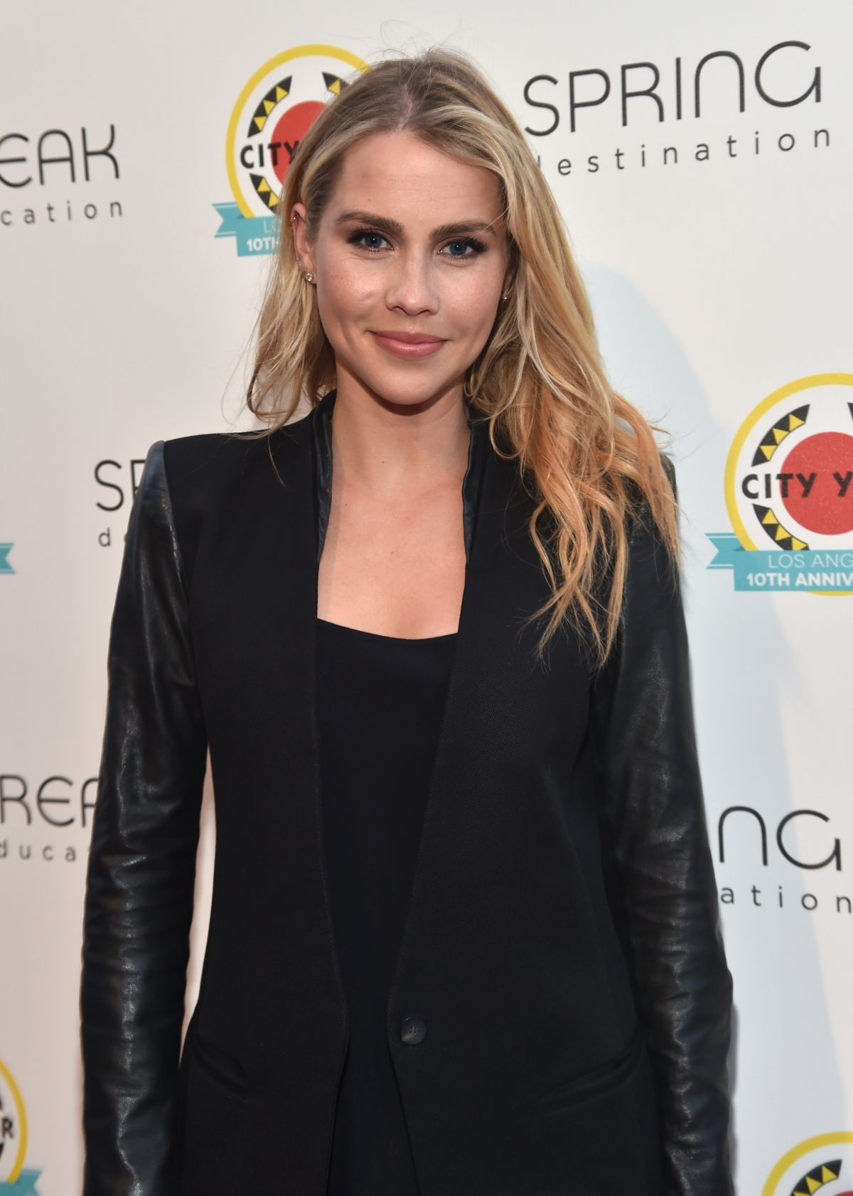 CLAIRE HOLT at City Year Los Angeles Spring Break in Los Angeles 05/06/2017