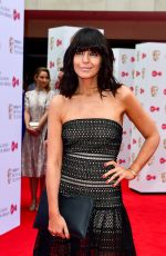 CLAUDIA WINKLEMAN at 2017 British Academy Television Awards in London 05/14/2017