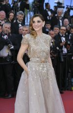 CLOTILDE COURAU at Ismael's Ghosts Screening and Opening Gala at 70th Annual Cannes Film Festival 05/17/2017