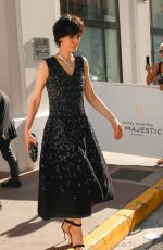 CLOTILDE HESME Leaves Hotel Barriere Le Majestic in Cannes 05/28/2017
