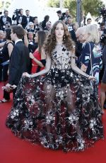 COCO KONIG at Ismael's Ghosts Screening and Opening Gala at 70th Annual Cannes Film Festival 05/17/2017