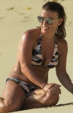COLEEN ROONEY in Bikini at a Beach in Barbados 05/26/2017