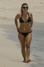 COLEEN ROONEY in Bikini on the Beach in Barbados 05/24/2017