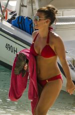 COLEEN ROONEY in Bikini on the Beach in Barbados 05/25/2017