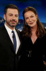 CONNIE NIELSEN at Jimmy Kimmel Live 05/24/2017