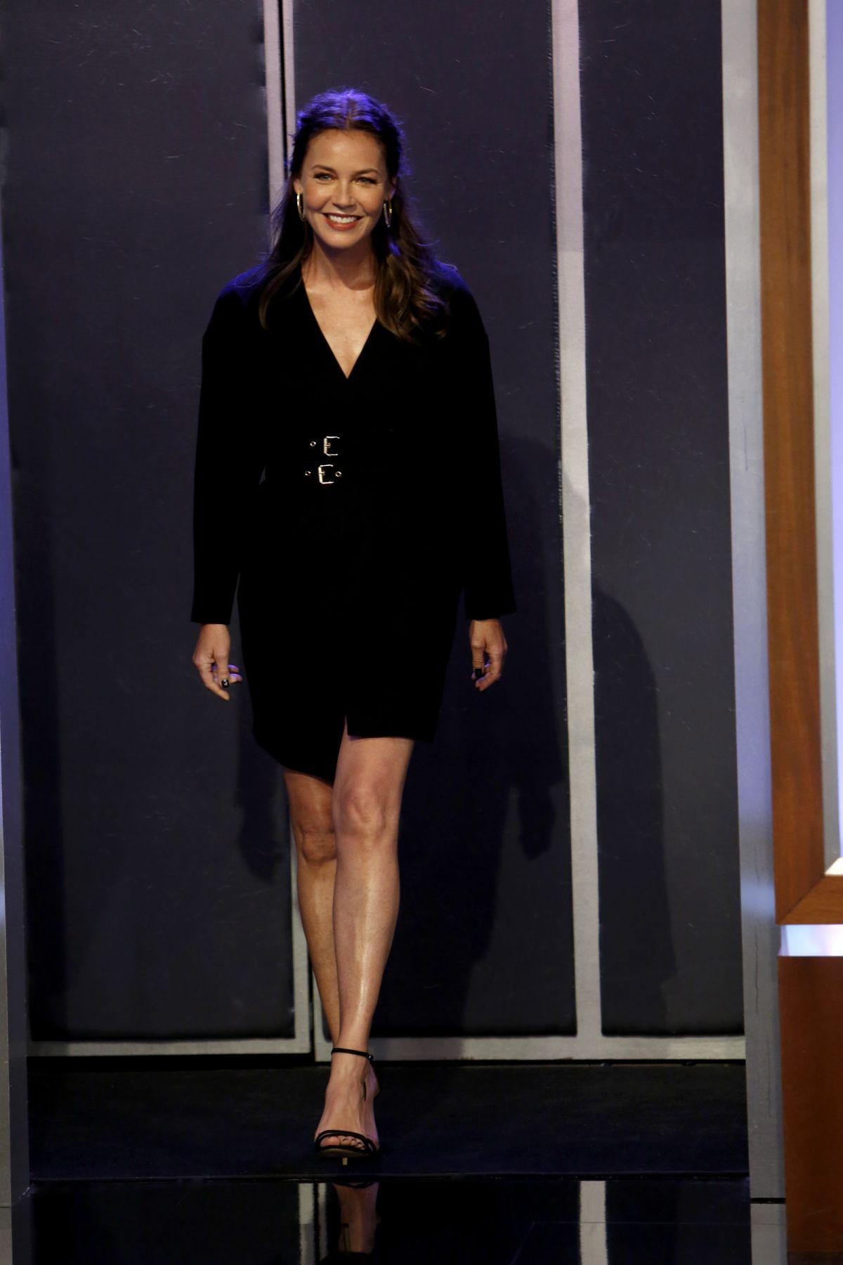 Connie Nielsen At Jimmy Kimmel Live 05 24 2017 Hawtcelebs