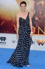 CONNIE NIELSEN at Wonder Woman Premiere in Los Angeles 05/25/2017