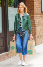 CONSTANCE JABLONSKI Out for Grocery Shopping in New York 05/26/2017