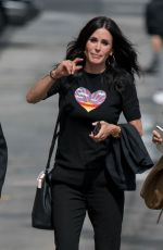 COURTENEY COX Arrives at Jimmy Kimmel Live 05/05/2017