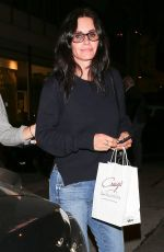 COURTENEY COX Leaves Craig