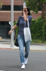 COURTENEY COX Out Shopping at Express in Beverly Hills 05/09/2017
